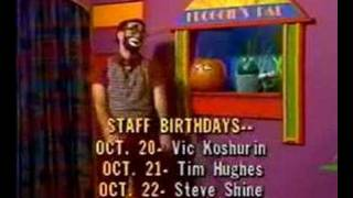 Happy's Place - 10/20/1989