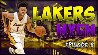 NBA2K17 MyGM Los Angeles Lakers EP.#8: Had To Trade For This Star Center!!!