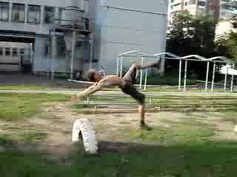 Meteor and SET Parkour and freerunning (Summer 2008) - Krasnoyarsk