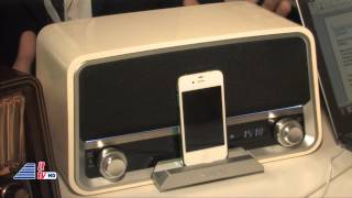 IFA 2012: Philips Original Radio/Fidelio P9 Speaker/SHOQBOX
