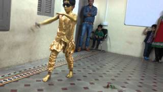 the best robotic dance by kids shidharth calorx public school bhavnagar