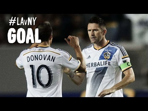 Goal: Landon Donovan Finds Robbie Keane Who Chips In A Wondergoal video