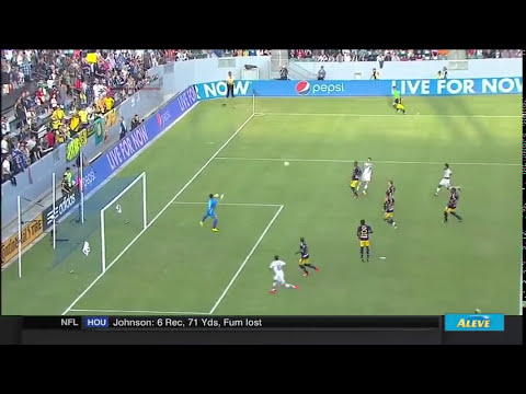 GOAL: Landon Donovan finds Robbie Keane who chips in a wondergoal