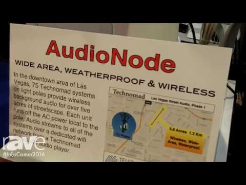 InfoComm 2016: Technomad Launches Turn-Key AudioNode Weatherproof Speakers and Amplifier