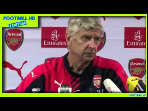 [HD] Arsene Wenger   Pre-Match Press Conference /  Arsenal vs Liverpool