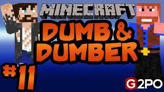 Dumb and Dumber on Minecraft - The Great Oak Ep. 11 | Castaway Island