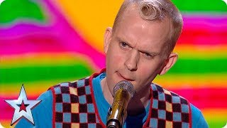 Download Lagu Watch out Judges: Robert White is coming for you in this HILARIOUS routine! | Semi-Finals | BGT 2018 Gratis STAFABAND
