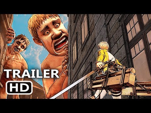 PS4 - Attack On Titan 2 Battle Gameplay Trailer (2018)