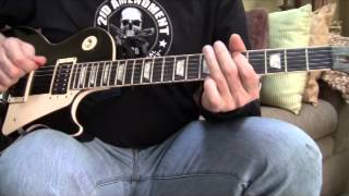 Calling Dr Love - KISS Rock n Roll Over LP Guitar Lesson Breakdown