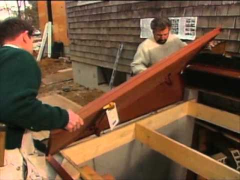 how to install bulkhead doors youtube