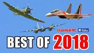 ① BEST OF ESSENTIAL RC 2018 | LARGE SCALE AND FAST RC ACTION