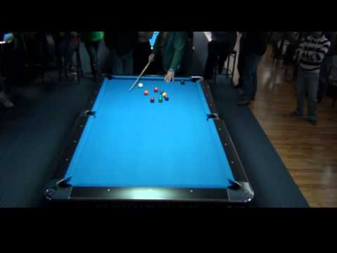Mike Massey Exhibition - Amazin Billiards 4/20/13