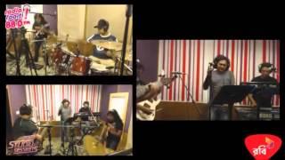 VIKINGS - JIBONER KOLAHOL (LIVE ON RADIO FOORTI)