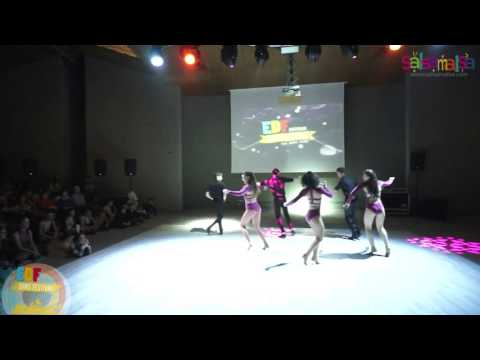 Karel Flores Turkey Team Dance Performance - EDF 2016