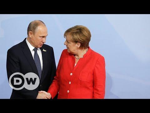 Меркель и Путин: особые отношения канцлера Германии и президента России?
