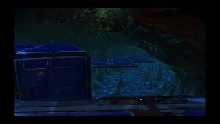 No Man's Sky Underwater Cave Base