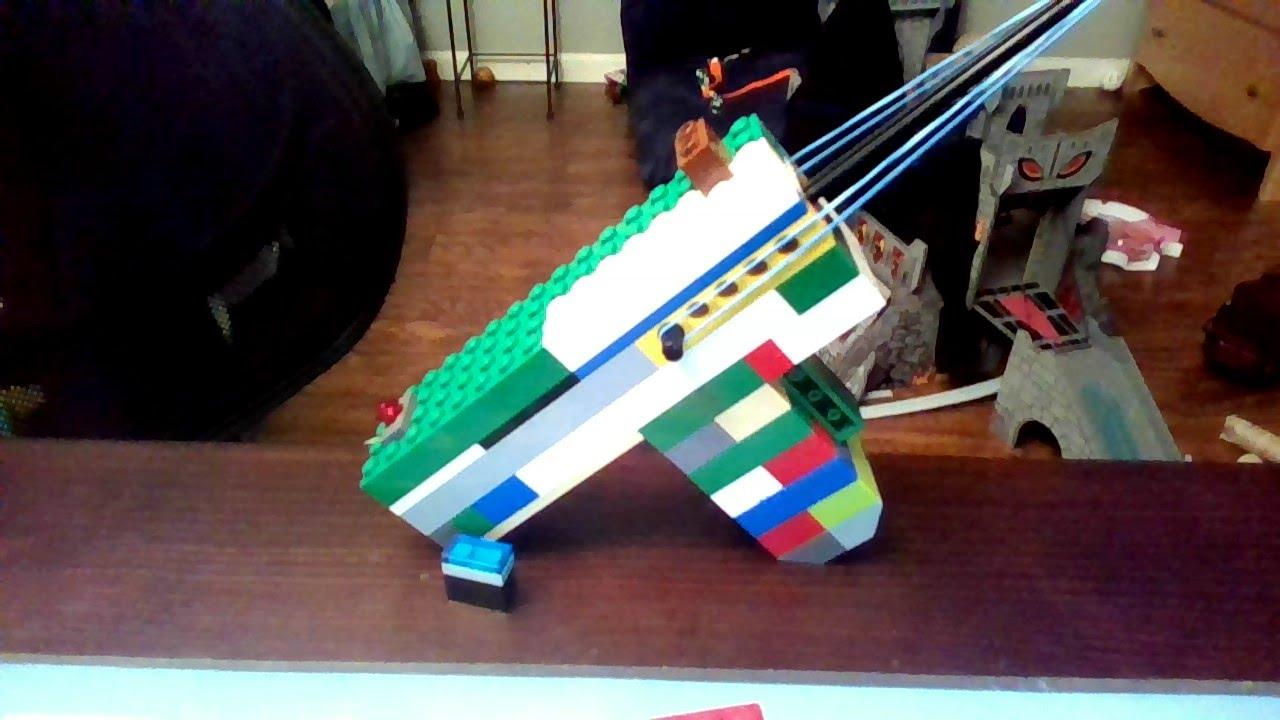 How to Make a Lego Gun That