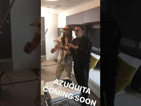 Steve Aoki Instagram Stories w/ Daddy Yankee