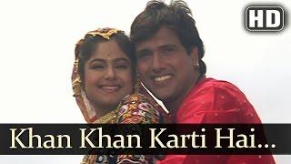 Ekka Raja Rani - Chan Chan Karti Hai - Alka Yagnik - Udit Narayan - Govinda