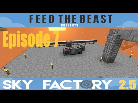 Sky Factory 2.5 :: Episode 7 - Solar Power Generation! :: (Minecraft)