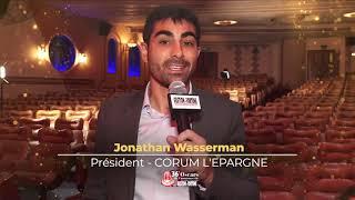 Les Oscars de l'assurance vie de la retraite et de la prévoyance 2021 Corum Life Meilleur nouvea