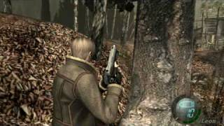 Resident Evil 4 Gameplay on GeForce4 MX 440 AGP 8X
