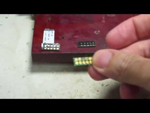 Minitor V Bottom Programming Charging Plate Contacts