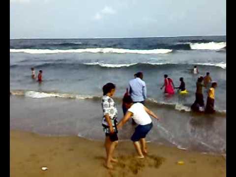Marina Beach Girl Marina Beach Chennai 25122008