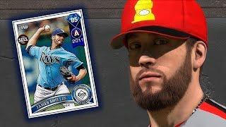 NEW DIAMOND JAMES SHIELDS TAKES THE MOUND!! MLB THE SHOW 18 DIAMOND DYNASTY