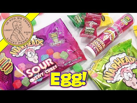 WarHeads Extreme Sour Easter Egg, Mix & Match Sour!