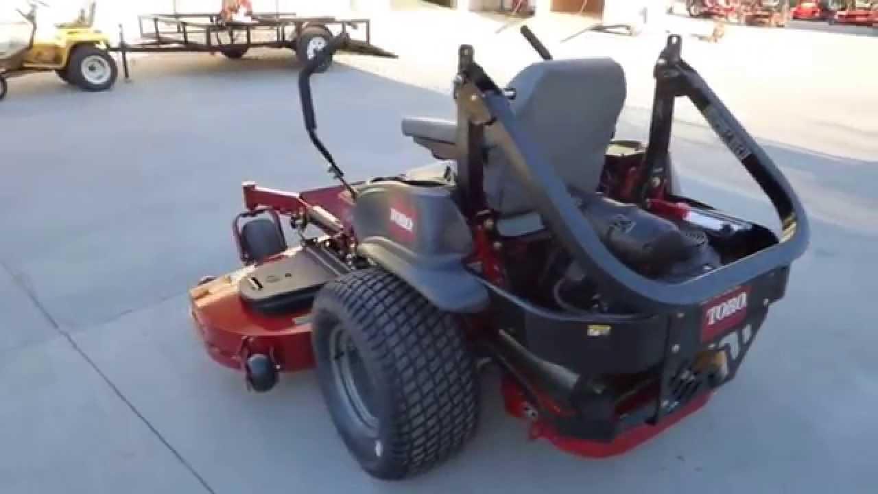 Toro Z Master 3000 Series 74959 Zero Turn Mower 72 U0026quot