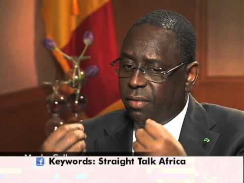 President Macky Sall of Senegal On His Meeting At The White House