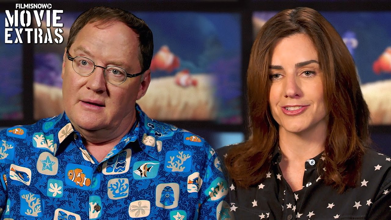 Finding Dory | On-set with Lindsey Collins & John Lasseter 'Producers' [Interview]
