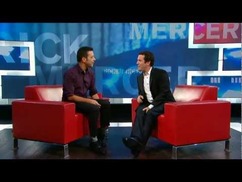 Rick Mercer on George Stroumboulopoulos Tonight: Interview