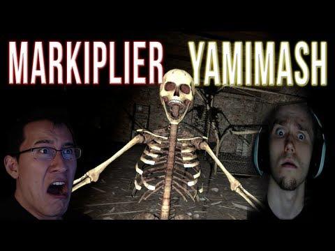 Gmod Horror Maps w/ YAMIMASH!   ABANDONED METRO