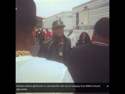 [VIDEO] 50 CENT fights P Diddy infront of the Bet Hip Hop Awards Trailers 2012