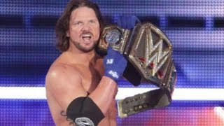 Is This Why AJ Styles Lost WWE Title?