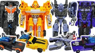 Transformers Movie Bumblebee Energon Igniters Power Series Hot Rod vs Megatron! #DuDuPopTOY