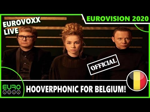 BELGIUM EUROVISION 2020: HOOVERPHONIC TO ROTTERDAM! (REACTION) | EUROVOXX LIVE