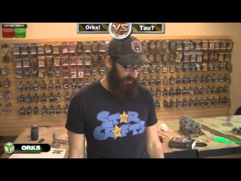 Orks vs Tau Warhammer 40k Battle Report - Beat The Cooler Ep 25 - Part 1/2