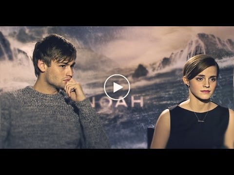 NOAH Interviews with Emma Watson, Douglas Booth & Ray Winstone