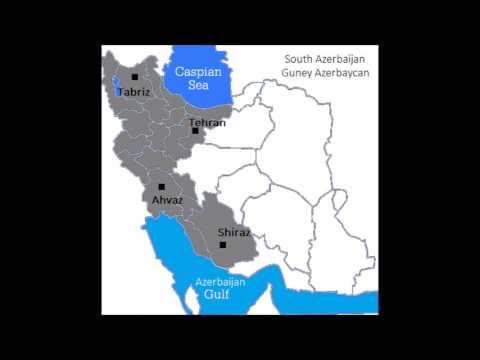 North Azerbaijan / South Azerbaijan - Guzey Azerbaycan / Guney Azerbaycan.