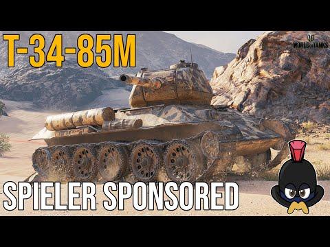 World of Tanks   Spieler Sponsored   T-34-85M 1