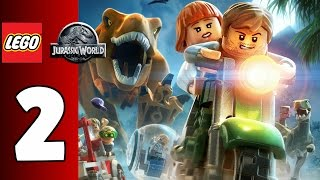 LEGO Jurassic World Gameplay Español Parte 2 - 1080p