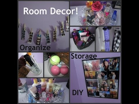 Room Decor Ideas: Organize, Store, + DIY s