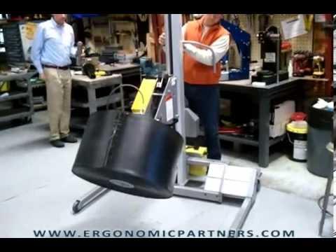 Portable Light Weight Aluminum Roll Lifter