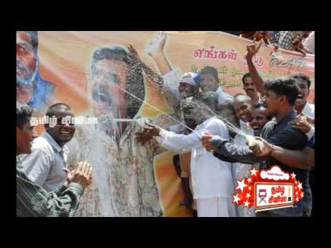 Kasi theater Rajni fans kabali banner removed|Tamil Cinema| Tamil Cinema News