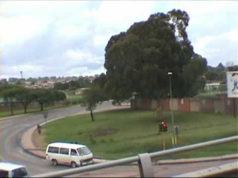 reis door Zuid-Afrika