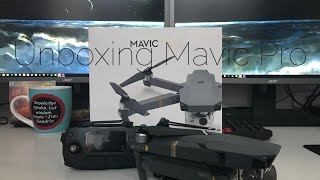FIRST EVER DJI MAVIC PRO UNBOXING & TEST FLIGHT!! 4K Review