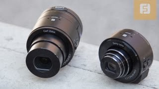 IFA 2013: Sony QX-10 and QX-100 hands-on